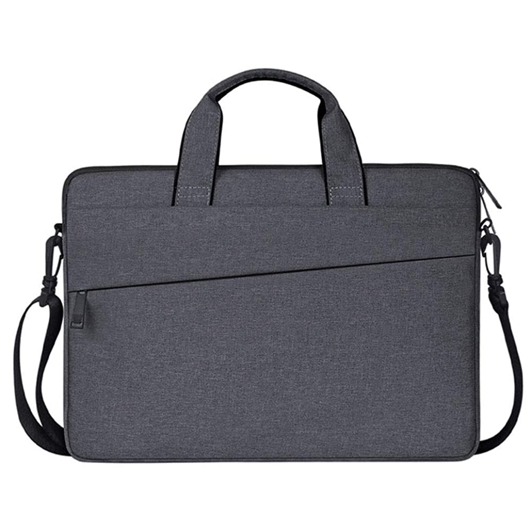 ZGZZ Multifunctional Waterproof Laptop Case Portable Sleeve Briefcase for Women and Men Bussiness Carrying Handbag Briefcase Shoulder Messenger Bag Water Repellent Laptop Bag