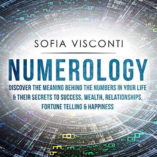 Numerology audiobook cover art