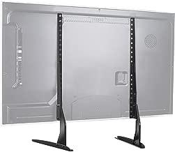 """Soporte Universal de TV de Sobremesa para Pantalla Plana de 37-65"""", LCD Televisores con Base de Patas de Altura Ajustable para Soportar hasta 50kg, VESA hasta 800x400mm"""