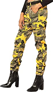 Voghtic Women's High Waisted Slim Fit Camoflage Camo...