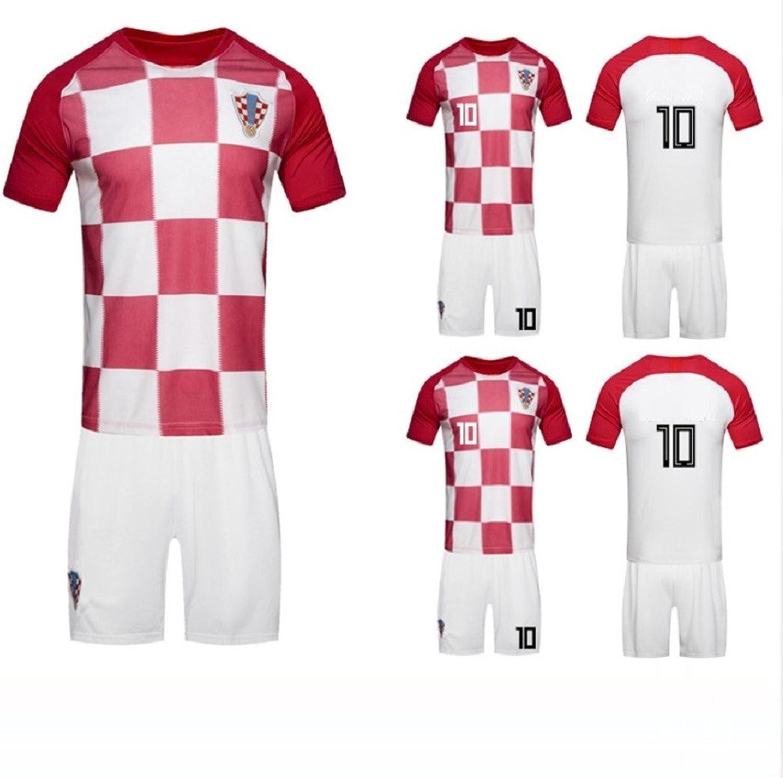 Croatia 2018 Soccer Jersey Uniform Men T Shirts Best Footballer Croatia Jersey, 10