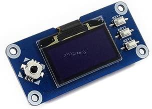 1.3 inch OLED Display HAT for Raspberry Pi 2B/3B/Zero/Zero W Jetson Nano 128x64 Pixels SPI/I2C Interface @XYGStudy
