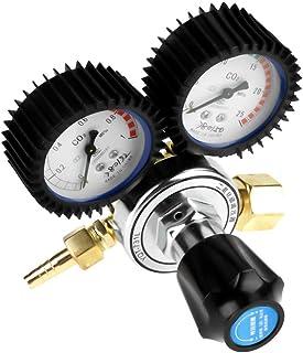 CO2-drukregelaar, schakelaar met grote handgreep G5/8 CO2-regelaar, voor het snijden van gaslassen