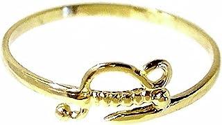 18K Fine Gold Ring Weight: 0.9Gr. [180]