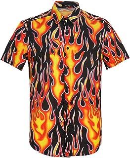 Best button up flame shirt Reviews
