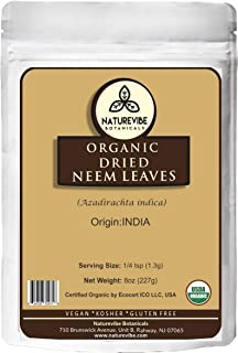 Organic Dried Neem Leaves (8oz)