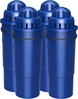 Waterspecialist Replacement CRF-950Z Pitcher Water Filter, Replacement for Pur Pitchers and Dispensers PPT700W, CR-1100C, DS-1800Z and PPF951K Water Filter (Pack of 4)