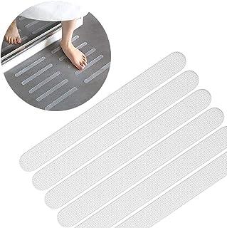 20枚入 浴槽 滑り止め バスマット 20*2cm 浴室マット バスルーム 滑り止めテープ キッチン 階段 プール 滑りやすい地面 転倒防止 耐熱性 防水 スリップマットストリップ