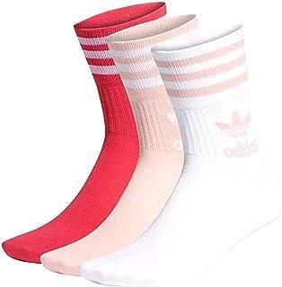 adidas, Mid-Cut Crew Calcetines Multicolor para Niña GD3579