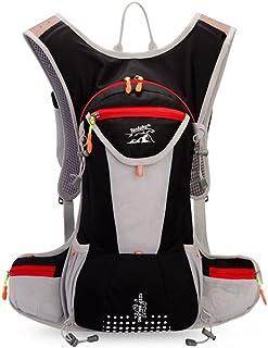 JIAN YA NA 12L Unisex Sports Camping Backpack Hydration Pack Running Riding Bag for Mens Womens