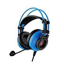 boAt Immortal IM-200 7.1 Channel Wired USB Gaming Headphone with RGB Breathing LEDs & 50mm Drivers (Furious Blue)