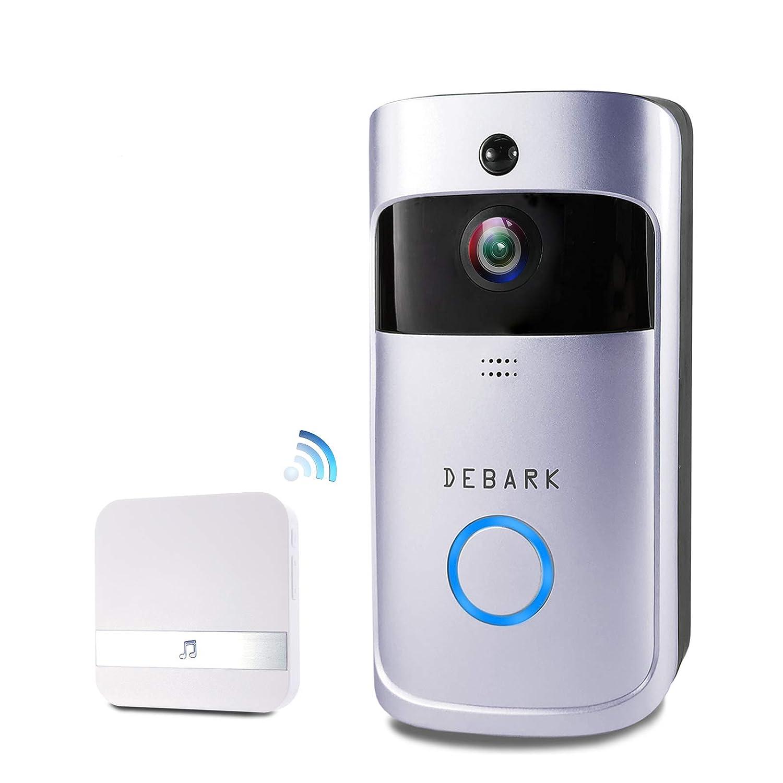 NZACE? V5 インターホン ワイヤレスチャイム ビデオ通話 呼び出しチャイム 6ヶ月待機 防水仕様 無線