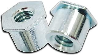 Self Clinching Standoff Hex Head Stand Thru-Thread Standoffs Steel Zinc 20 Pack #4-40/0.212X0.500(L) Hex Nuts Insert Metal Sheet Standoff Mounting Hardware Nut And Bolt Set Super-Deals-Shop