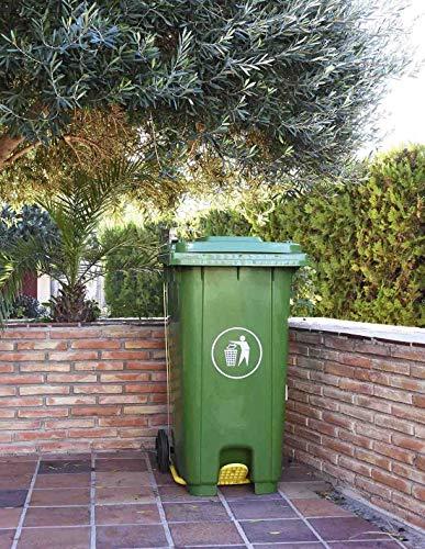 Faura - Cubo de Basura 240 litros - Verde