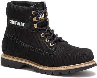 Caterpillar Boots Colorado Corduroy Noir Homme
