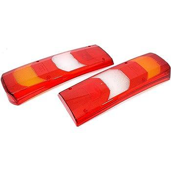 10x Lichtscheiben R/ücklicht R/ücklichtglas Heckleuchte