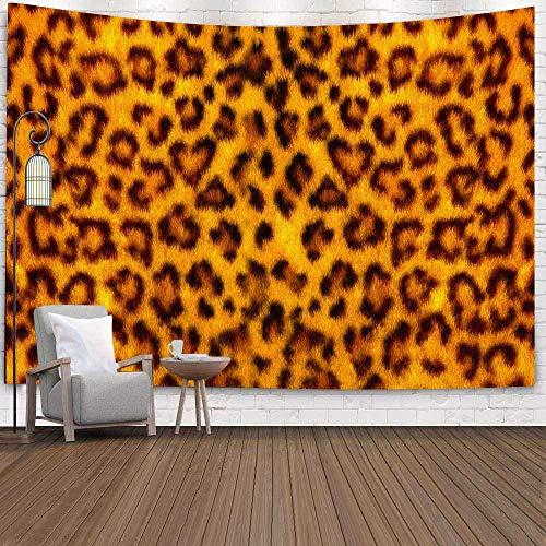 Tapiz con estampado de leopardo, patrón de piel de animal salvaje, tapices artísticos para colgar en la pared para sala de estar, decoración del dormitorio del hogar, 150x100cm