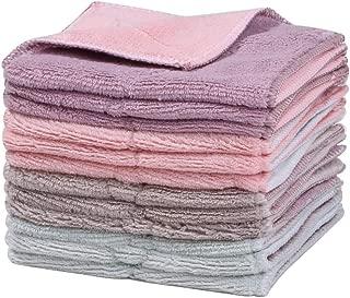 キッチンクロス マイクロファイバークロス 布巾 雑巾 大容量 吸水タオル 速乾吸水キッチンクロス 4色3枚 全12枚セット