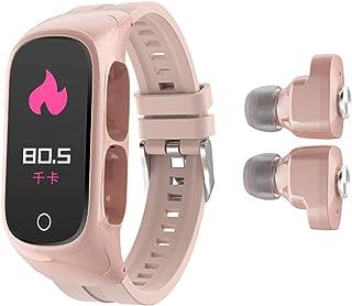 Smart Bracelet Bluetooth Headset Two In One Mobile Phone Watch Heart Rate Sleep Monitoring Sports Bracelet Fitness Tracker...