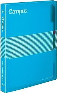 Kokuyo Campus Slide Binder - B5 - 26 Rings - Light Blue [Office Product]