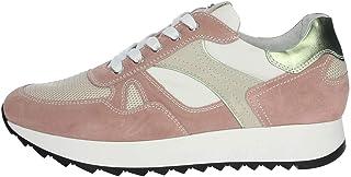 Nero Giardini - Sneakers Donna in camoscio e Tessuto - Rosa peonia P907740D 429 - P907740D 429