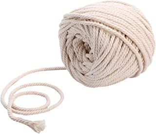 comprar comparacion Sadingo - Cordón de algodón (5 mm, 20 m x 10 m), color blanco