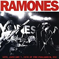 Live January 7, 1978 at the Palladium, NYC by The Ramones