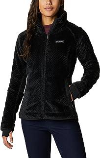 Columbia womens Pearl Plush II Fleece , Black , XS