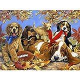 Rompecabezas de 1000 Piezas para Adultos Rompecabezas para Perros Mascota para Adultos y niños Rompecabezas para Adultos