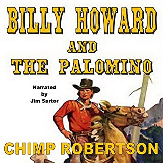 Billy Howard and the Palomino audiobook cover art