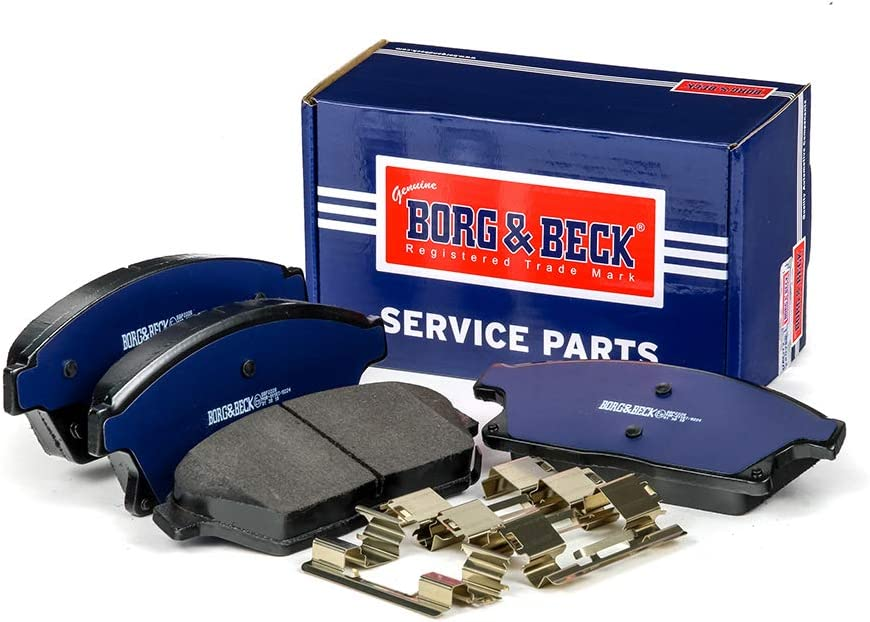 Max 78% OFF Borg Beck BBP2228 Front Brake Wear Indicators Includes - Cheap SALE Start Pads