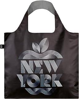 LOQI Alex Trochut Reusable Shopping Bag, One Size, New York