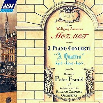 Mozart: Piano Concertos Nos. 11 - 13