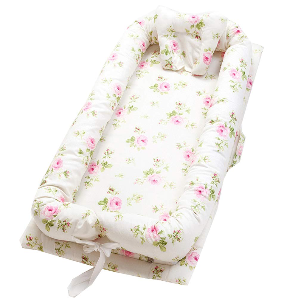 Sleeping Bed for Cuddling Washable Baby Crib Co-Sleeping Bed ...