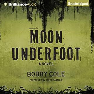 Moon Underfoot audiobook cover art