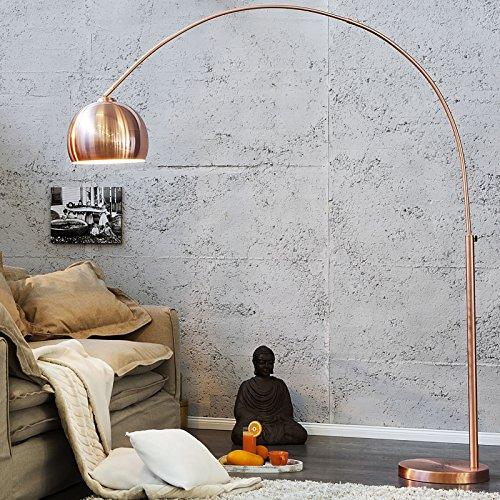"DESIGN LAMPADA AD ARCO ""BIG BOW"" | color rame, 210 x 160 cm |"