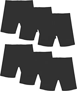FreeNFond Girls Dance Shorts for Sports, Play Under Skirts, Pack of 6