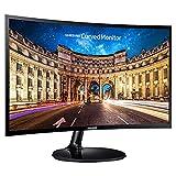 Samsung CF390 (LC24F390FHNXZA) 24-inch LED Curved FHD 4ms FreeSync Monitor Black (Renewed)