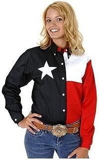 Roper Women's Texas Pieced Flag Shirt