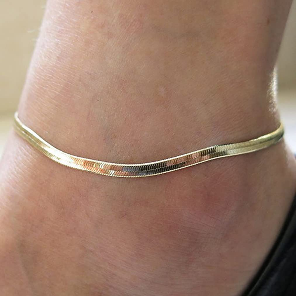 LittleB Simple Jewelry Charm Anklets Bracelet for Women