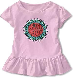Kid T Shirt Blind Melon Rock Band 3D Tee Baseball Ruffle Short Sleeve Cotton Shirts Top for Girls Kids