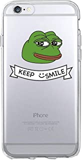 for iPhone 7 7Plus 6 6S 6Plus 8 8Plus X 5 5S SE XS Max Samsung Pepe Memes Sad Frog Soft TPU Phone Case Cover Coque Fundas,4,for iPhone 6 6S