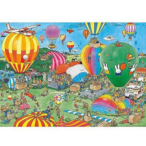 Puzzle 1000 pièces : Jan Van Haasteren : Hourra Miffy a 65 ANS