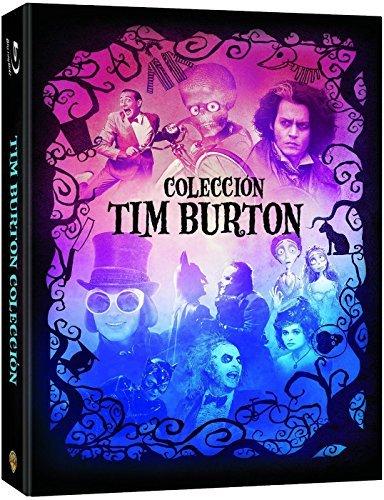 Tim Burton Collection - 9-Disc Box Set ( Batman / Batman Returns / Beetlejuice / Mars Attacks! / Pee-wee's Big Adventure / Charlie and the Chocolate Factory / S [ Spanische Import ] (Blu-Ray)