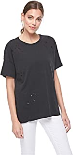 Bershka T-Shirts For Women, Black S