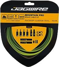 Jagwire Pro Brake Cable Kit Mountain for SRAM/Shimano, Organic Green