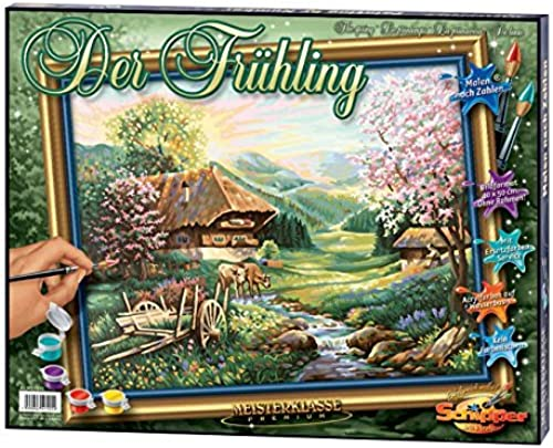 Noris 609130505 Painting By Numbers - The Spring by Noris