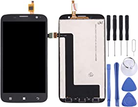 Replacement/Repair Tools sets/Replace the old Replacement LCD Screen+Touch Screen and Digitizer Full Assembly for Lenovo A859(Black) (Color : Black)