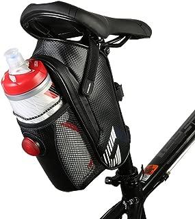 Allnice Waterproof Bike Bicycle Saddle Bag Seat Bag Mountain Road MTB Bike Bicycle Under Seat Bag Repair Tool Bag Bicycle Tail Light Riding Cycling Supplies (Dark Blue)