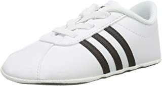 Adidas Unisex Baby VL Court 2.0 Crib First Walking Shoes